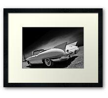 Desert Shark Framed Print