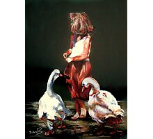 """""""Little Mother Goose"""" Photographic Print"""
