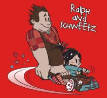 Ralph and Schweetz by moysche