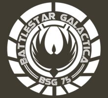 Battlestar Galactica Insignia White by heythisisBETH