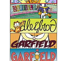 The Colours of Garfield Case by ChloeJade