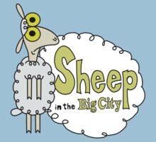 Sheep in The Big City by kalilak