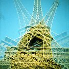 Eiffel Tower is Falling Down - Lomo by Yao Liang Chua