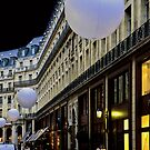 PARIS WITH SPHERES (CARD ONLY) by Thomas Barker-Detwiler
