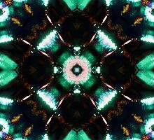 Jade Reflections 2 by MSRowe Art and Design