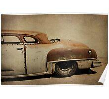 Rusty Chrysler De Soto Poster