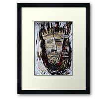 Barbarism (4) - Flames Framed Print