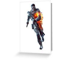 Battlefield 4 Guy Big Greeting Card