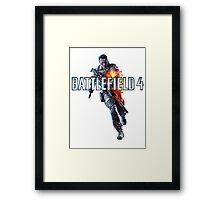 Battlefield 4 Guy words Framed Print