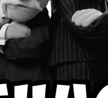 Waldorf and Statler | Thug Life | Muppets Sticker
