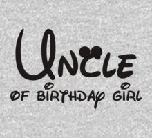 Uncle of the birthday girl with Mickey Mouse ears by sweetsisters