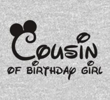 Cousin of birthday girl with Mickey Mouse ears by sweetsisters