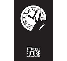 Back to the Future - Doc Brown & the Clock Tower Photographic Print