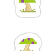 12 of Teemo's Mushrooms Sticker