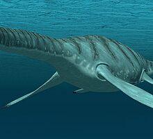 Plesiosaur by Walter Colvin