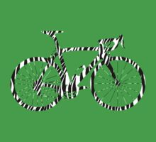 Bike Zebra Black & White (Big) by sher00