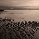 Sanur Beach in Sepia by Hicksy