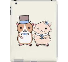 Hamster Wedding Couple iPad Case/Skin