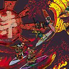 Samurai Surf Tsunami Shogun Showdown (version Black Dragon) by Trickmaster