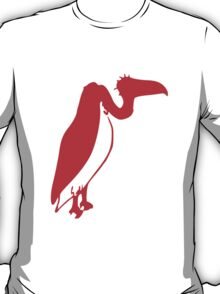 Red Vulture Silhouette T-Shirt