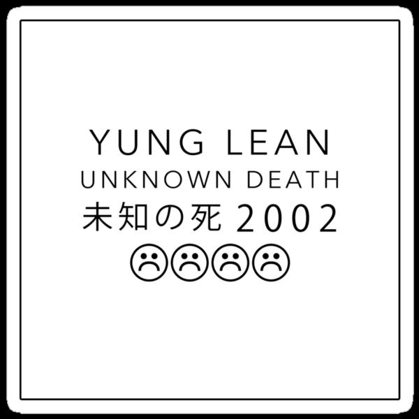 YUNG LEAN UNKNOWN DEATH 2002 by pbwlf