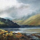 MIST IN THE LAKES by Patricia Sabin