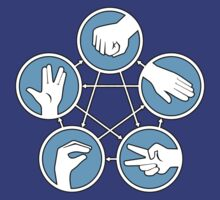 Rock Paper Scissors Lizard Spock | Big Bang Theory by SDCollectibles