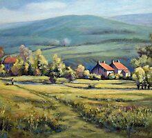 RIVER WALK - GRASSINGTON by Patricia Sabin