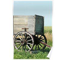 Wagon Hitch on Vintage Farm Equipment Poster