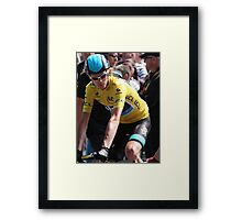 Chris Froome (2), Tour de France 2013 Framed Print