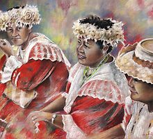Three Mamas from Tahiti by Goodaboom