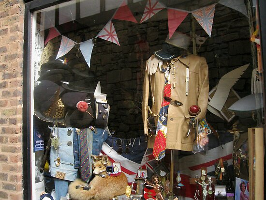 Vintage Window Display by BlueMoonRose