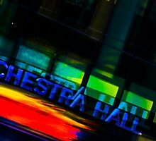 Orchestra Hall Abstract by Mark Jackson