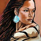 Native American Woman Collection by Susan Bergstrom