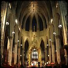 St. Patrick's - NYC by Robert Baker