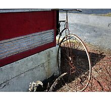 Vintage Penny-Farthing Bike  Photographic Print