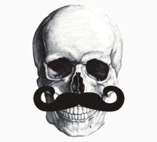 Skull With Mustache by NerdTown