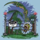Jurassic Pounce! (Light Shirts) by Punksthetic