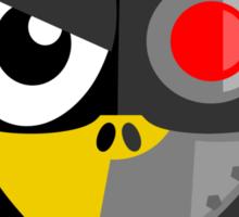 Cyborg Penguin Sticker