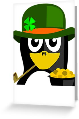Irish Penguin by kwg2200