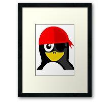 Pirate Penguin Framed Print