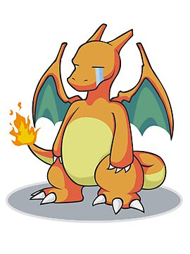 Sad Charizard by Eternia