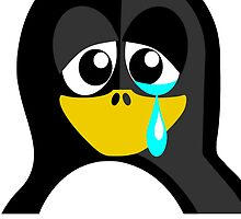 Sad Penguin by kwg2200