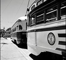 S.F. Municipal Railway by Patrick T. Power