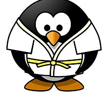 Karate Penguin by kwg2200