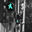 Trademark:  East German pedestrian crossings. by DrkCDesigns