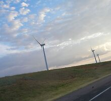 Clean Air, Clean Energy--An Oklahoma Wind Farm by CandyApplCrafts