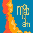 Balanced Rock and Moab Utah Illustrated Poster by strayfoto