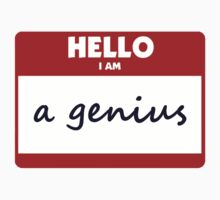 Hello I Am A Genius by Jayne Plant