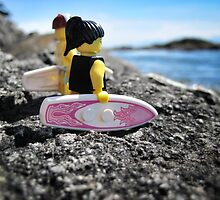 Surf's Up! (3 of 3) by bricksailboat